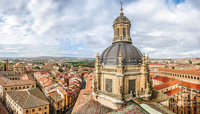 Photograph - Bierdview Of Historic City Of Salamanca by JR Photography