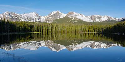 Photograph - Bierstadt Lake  by Aaron Spong