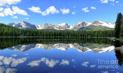 Bierstadt Lake In Rocky Mountain National Park Art Print by Ronda Kimbrow