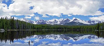 Antlers - Bierstadt Lake Panorama by Brian Kerls