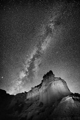 Art Print featuring the photograph Big And Bright In Black And White by Stephen Stookey
