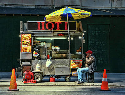 Photograph - Big Apple Gourmet by Allen Beatty