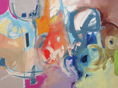 Award Winning Artist Painting - Big Apple by Linda Monfort