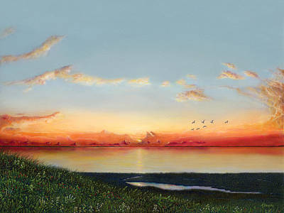 Big Assawoman Bay Art Print