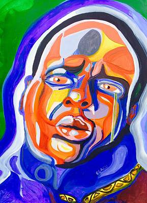 Hop Drawing - B.i.g. Attitude by James Egaku