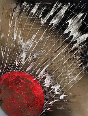Painting - Big Bad Badminton by Jason Girard