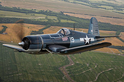 Photograph - Corsair by Jay Beckman