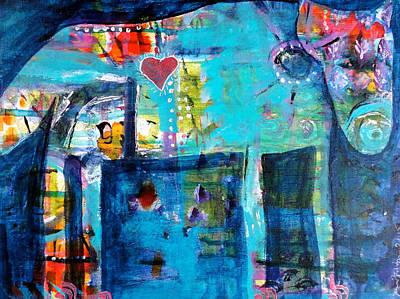 Fairy Poem Wall Art - Painting - Big Bad by Jenn Ashton