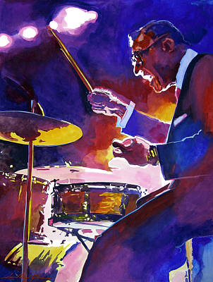Nostalgia Painting - Big Band Ray by David Lloyd Glover