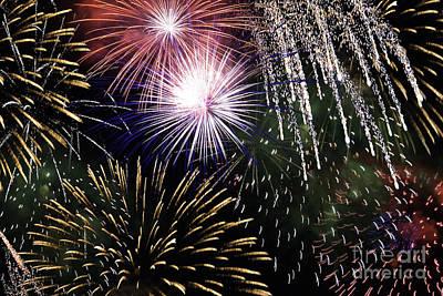 Big Bang Fireworks Art Print
