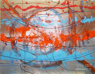 Big Bang Art Print by Mordecai Colodner