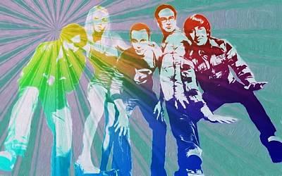 Raj Mixed Media - Big Bang Theory Art by Dan Sproul