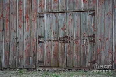 Photograph - Big Barn Doors by Kathy M Krause