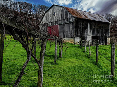 Photograph - Big Barn by Elijah Knight