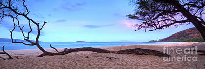 Sunrise At The Beach Photograph - Big Beach In Makena Maui by Dustin K Ryan