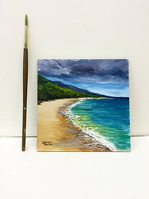 Painting - Big Beach Mini by Darice Machel McGuire