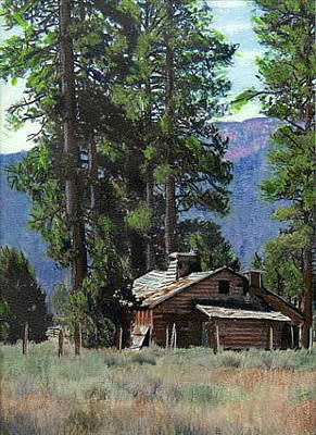 Painting - Big Bear Meadow by John Brisson