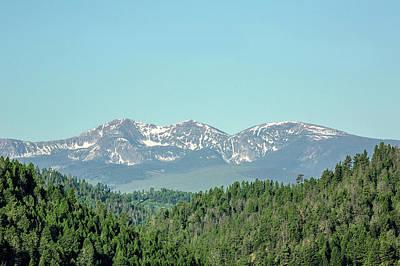 Photograph - Big Belt Mountains by Todd Klassy