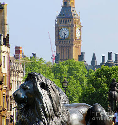 Photograph - Big Ben  5246 by Jack Schultz