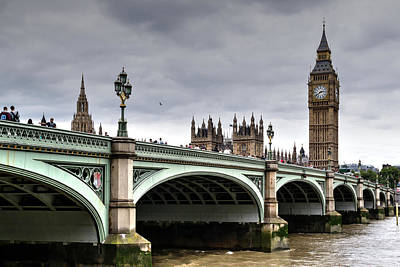Photograph - Big Ben And Houses Of Parliament by John Williams