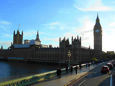 Photograph - Big Ben And Parliament London City by Irina Sztukowski