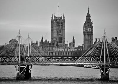 Photograph - Big Ben And Parliament  by Matt MacMillan