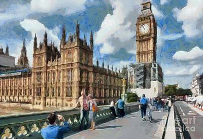 Photograph - Big Ben And Parliament by Mick Flynn