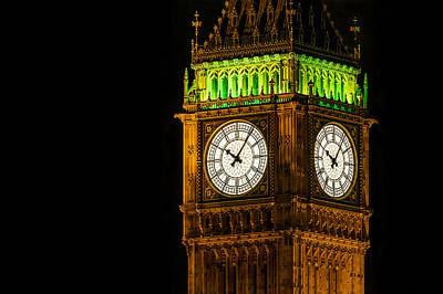 Westminster Photograph - Big Ben by Carlo Fazio
