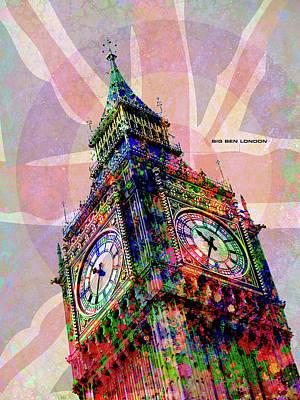 Digital Art - Big Ben by Gary Grayson