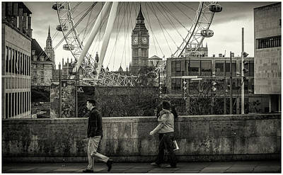 Photograph - Big Ben In A Wheel by Stewart Marsden