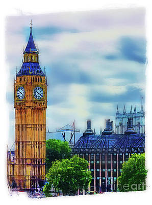Photograph - Big Ben by Judi Bagwell