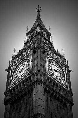 The Clock Photograph - Big Ben by Kamil Swiatek