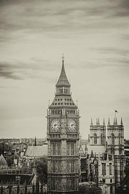 Photograph - Big Ben by Lindy Grasser