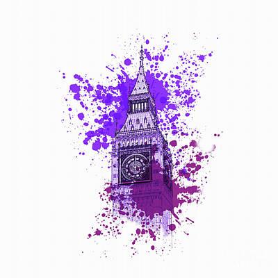 Big Ben London 003 Art Print by Gull G