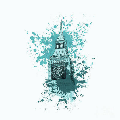 Big Ben London 01a Original by Gull G