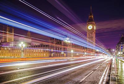Photograph - Big Ben London At Night  by Mariusz Czajkowski