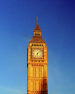 Photograph - Big Ben, London by Misentropy