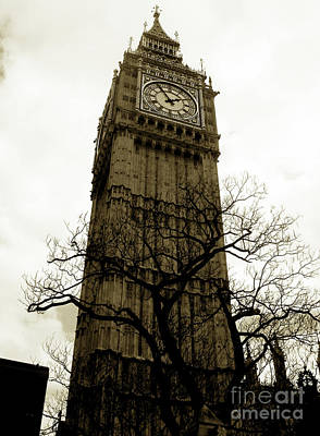 Photograph - Big Ben by Nina Ficur Feenan
