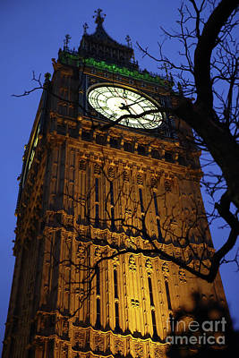 Photograph - Big Ben by Rick Mann