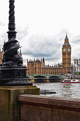 Photograph - Big Ben by Sharon Popek