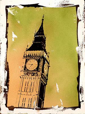 Big Ben Sunrise Original by Ryan Fox