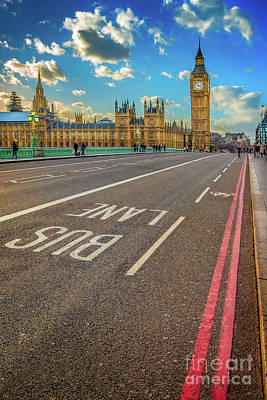 Photograph - Big Ben Westminster by Adrian Evans