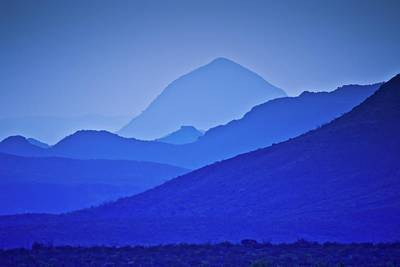 Photograph - Big Bend Blue by Linda Unger