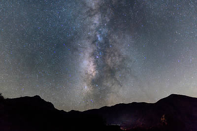 Photograph - Big Bend Chisos Basin by Rospotte Photography