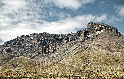 Photograph - Big Bend Landscape by Judy Hall-Folde