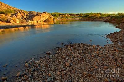 Photograph - Big Bend Rio Grande Sunset by Adam Jewell
