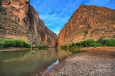Photograph - Big Bend Santa Elena Canyon by Adam Jewell