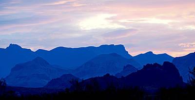 Photograph - Big Bend Sunrise V2 by Rospotte Photography