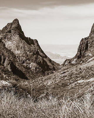 Photograph - Big Bend Window To Mexico 2 by Adam Reinhart