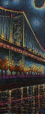 Ben Franklin Painting - Big Ben's Bridge by Damon Gray